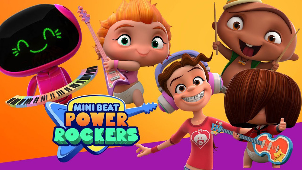 Mini Beat Power Rockers