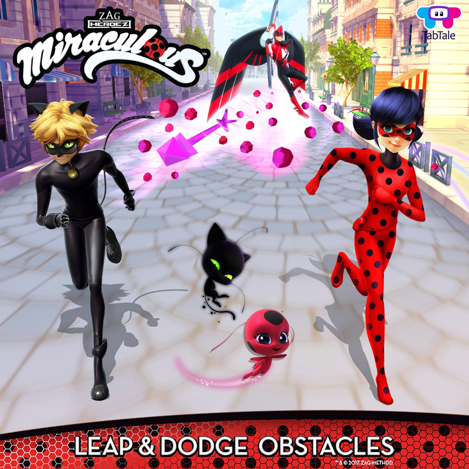 ZAG Taps TabTale For First Official 'Miraculous Ladybug