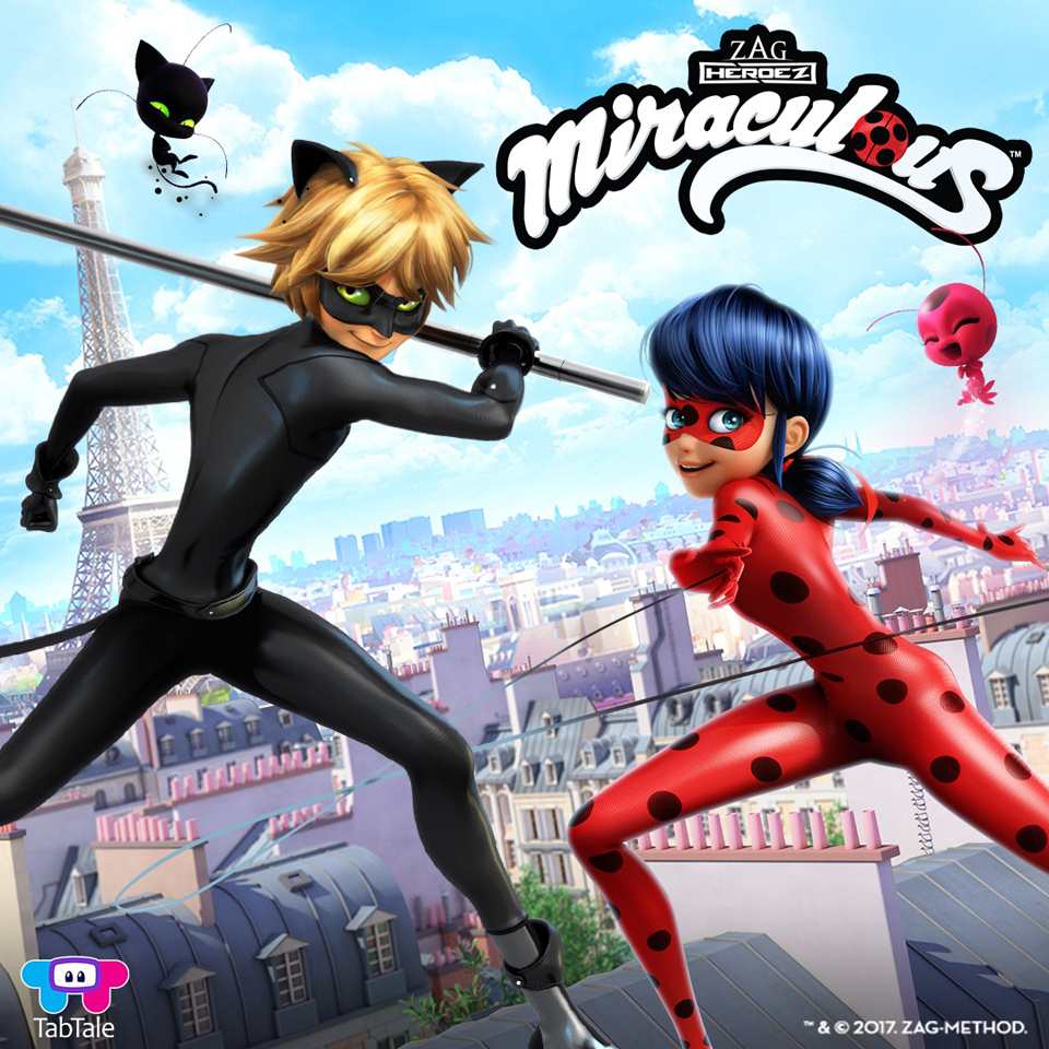 Zag Taps Tabtale For First Official Miraculous Ladybug Mobile Game