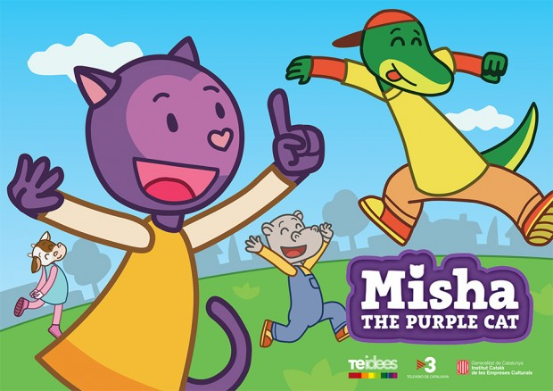 Misha the Purple Cat