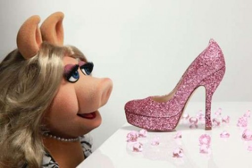 Miss Piggy shoes