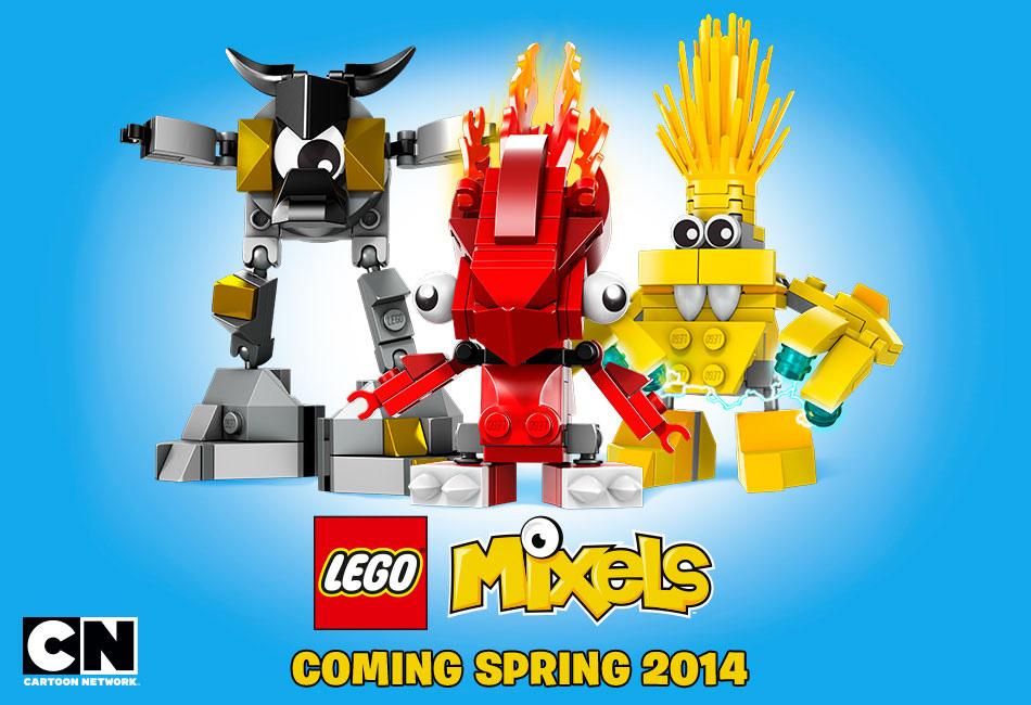 Cartoon Network and LEGO Launch 'Mixels' Franchise   Animation Magazine