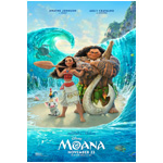 Dwayne Johnson Unveils New 'Moana' Poster