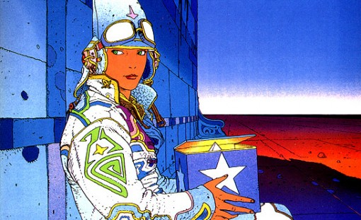 Moebius' famous Starwatcher image