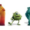 Val (Mindy Kaling, Sully (John Goodman) and Mike (Billy Crystal), Monsters At Work