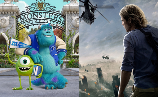 Monsters University / World War Z