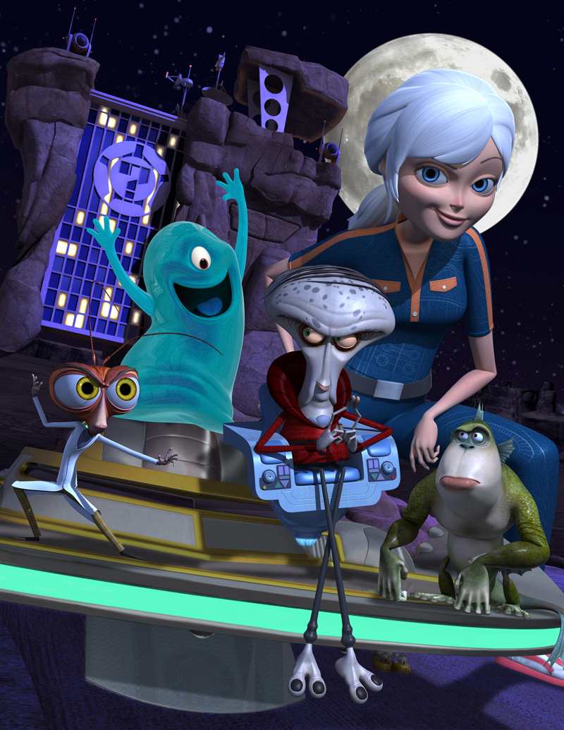 Monsters vs aliens susan exploited clip