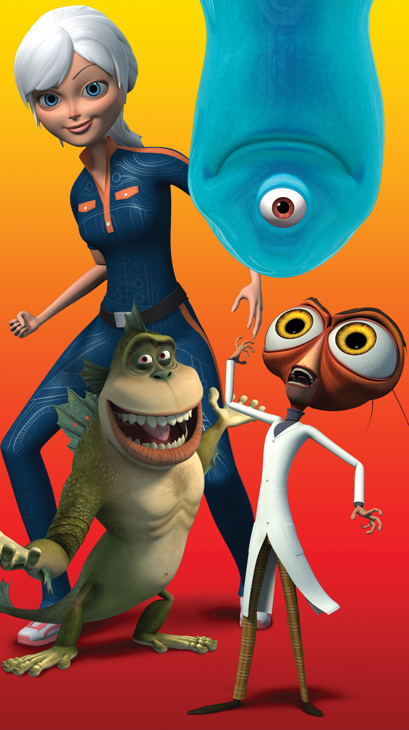 Monsters vs aliens porno picsix erotica pics