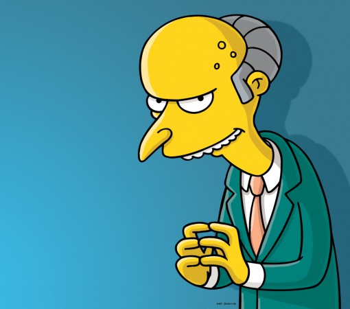 The Simspon's Mr. Burns