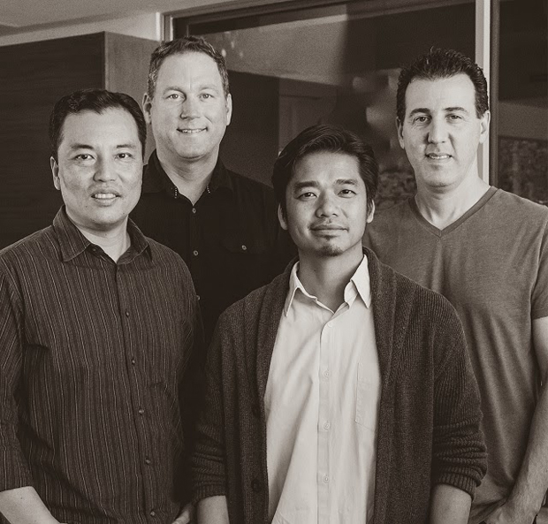 (from left) Danny Yoon (Mr. Wolf) , Mike Pryor (Mr. Wolf), Duy Nguyen (Mr. Wolf), Jason Forest (Bully Pictures)