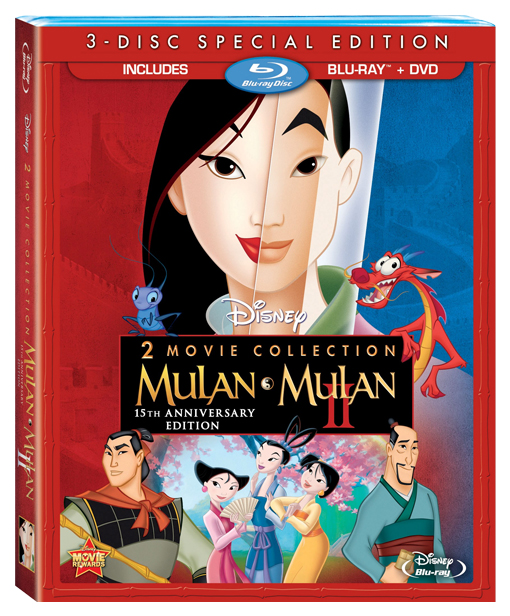 Mulan & Mulan II: 15th Anniversary Edition