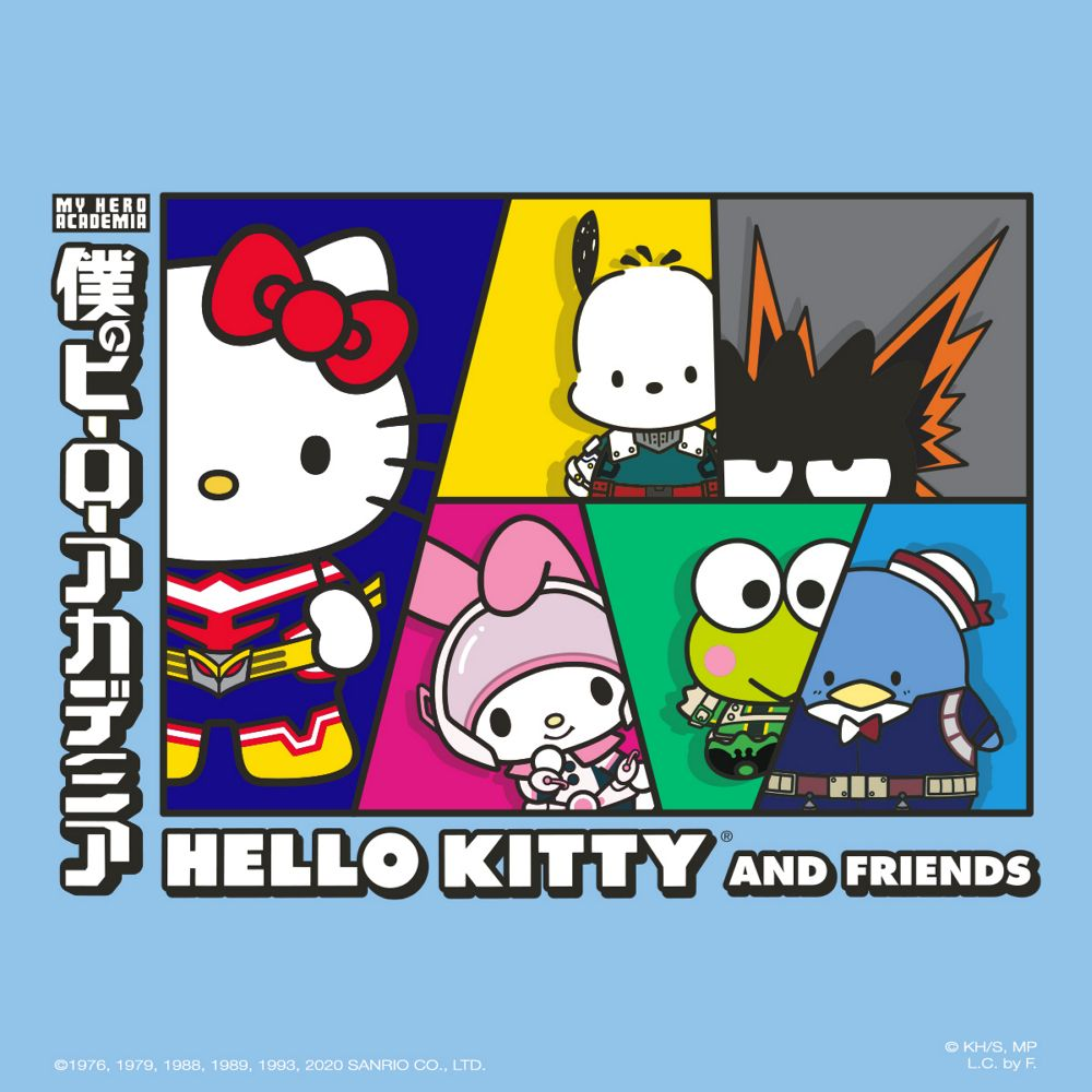 My Hero Academia  and Hello Kitty and Friends