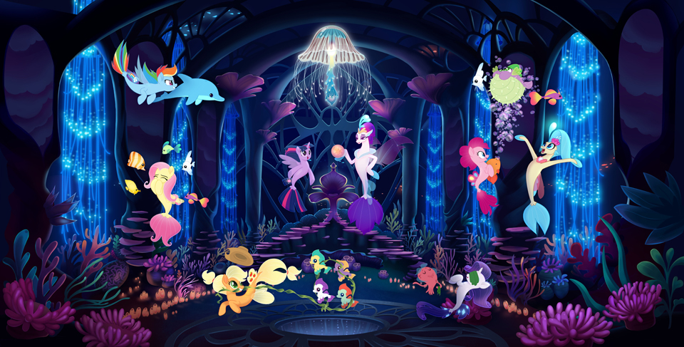 The Mane Event My Little Pony The Movie Gallops To Theaters