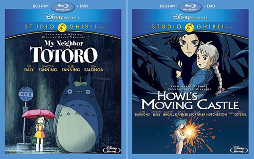 My Neighbor Totoro / Howl's Moving Castle
