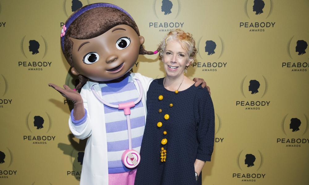 Nancy Kanter and Doc McStuffins