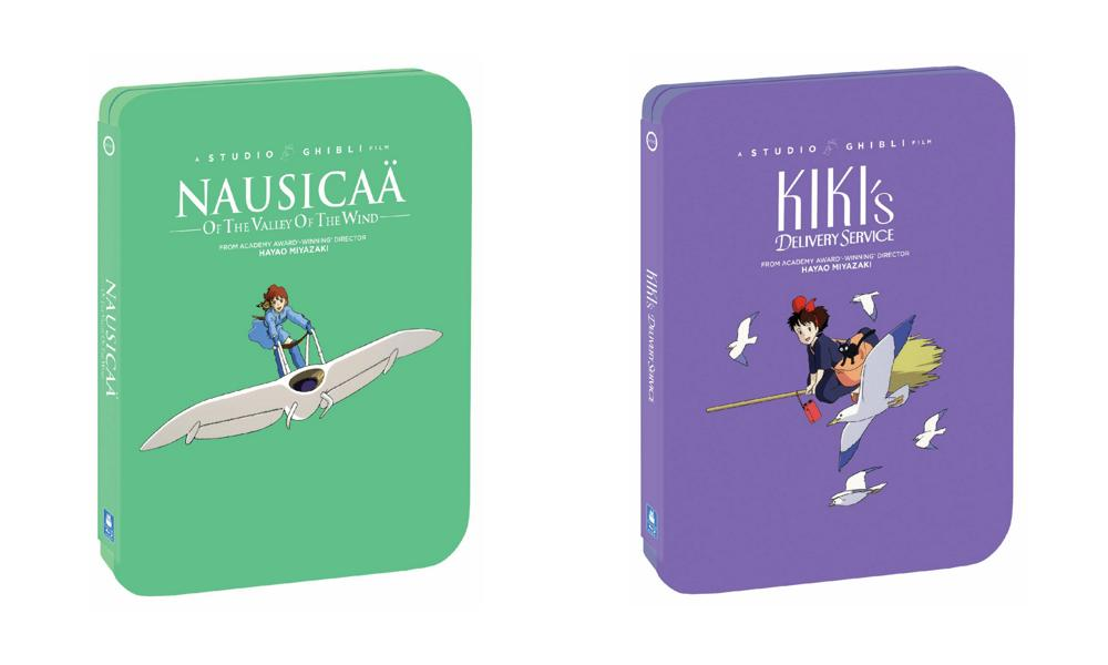 Nausicaä of the Valley of the Wind and Kiki's Delivery Service