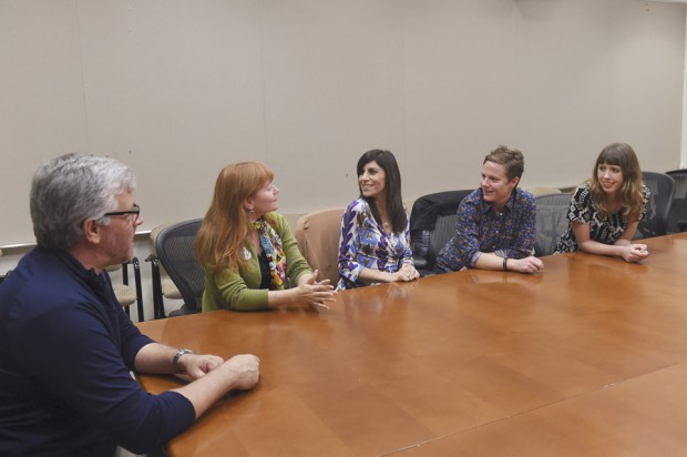 Animation Magazine's Tom McLean interviews Brooke Keesling, Aliki Theofilopoulos, Chris Nee, and Daron Nefcy on June 3 in Burbank, California for its Annecy issue.