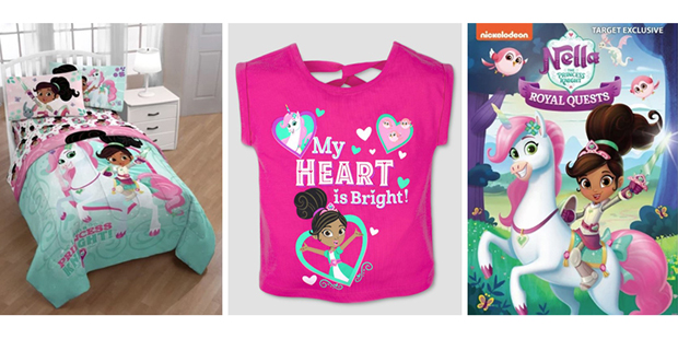 Nella the Princess Knight toys, home goods, and kids' apparel at Target