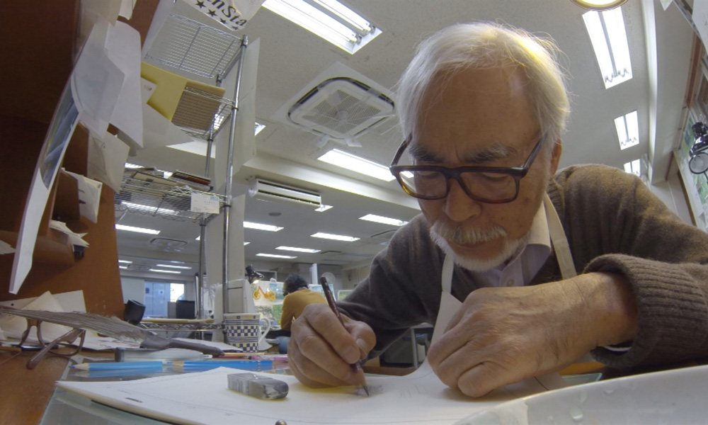 Hayao Miyazaki; still from documentary Never Ending Man (2017)