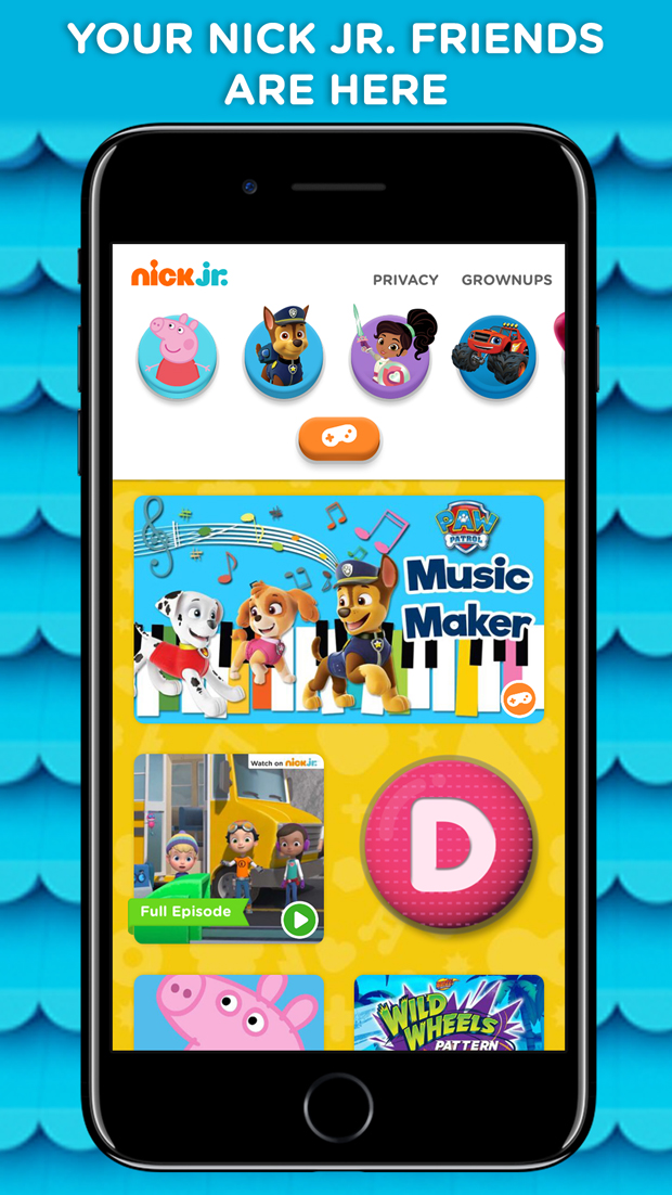 Nick jr parents play to learn