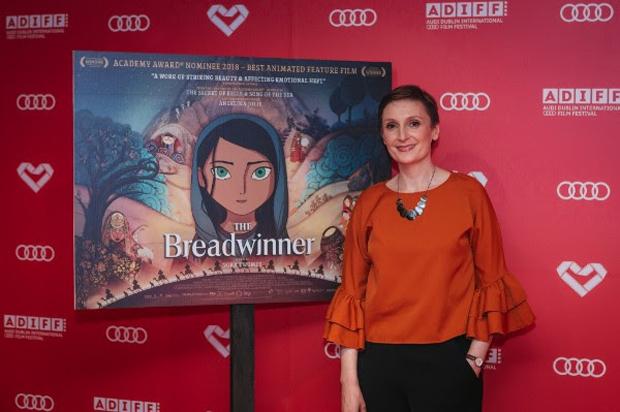 Nora Twomey, director of AUDI-ence Award-winning film The Breadwinner at the Audi Dublin International Film Festival