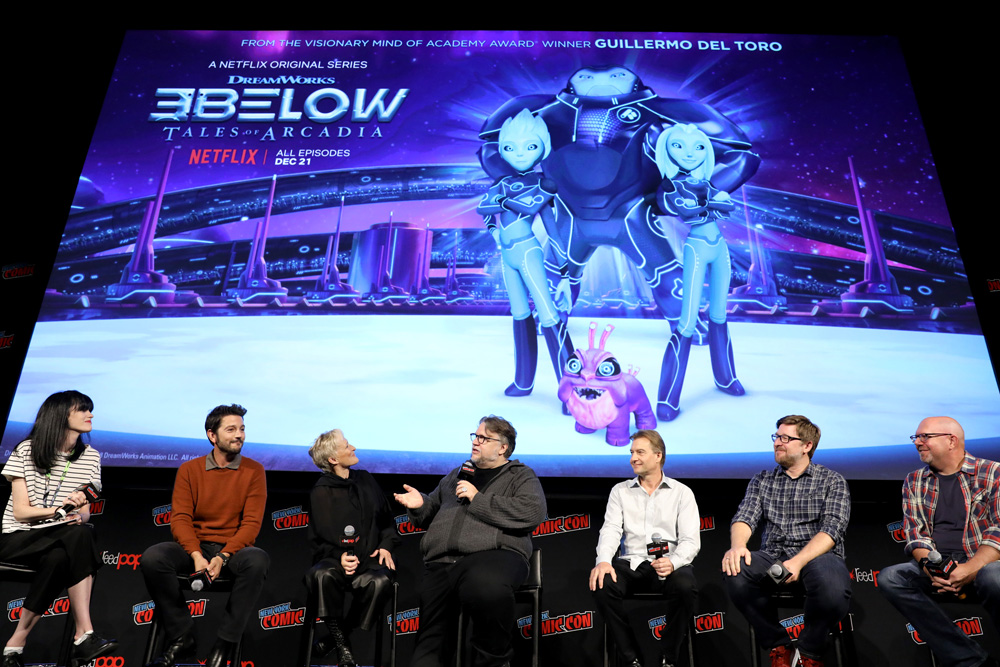 DreamWorks Tales of Arcadia: 3Below panel during New York Comic Con '18