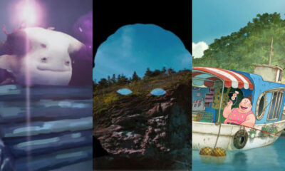 OIAF21 feature selections (L-R) Elulu, Archipelago, Fortune Favors Lady Nikuko