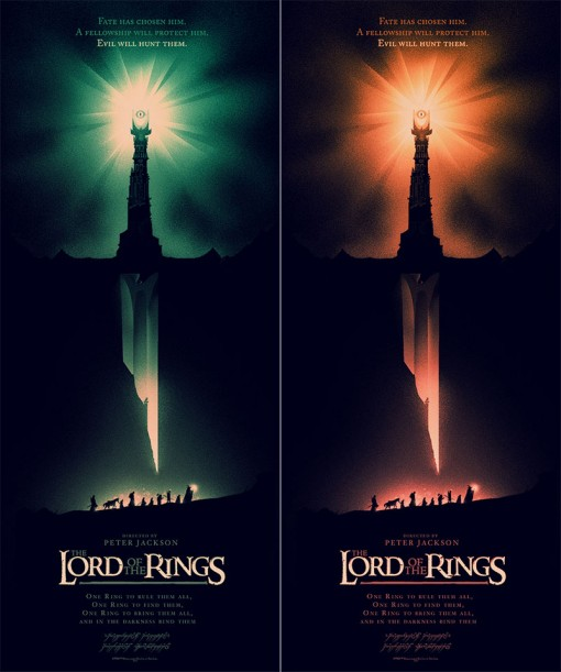 Lord of the Rings poster art