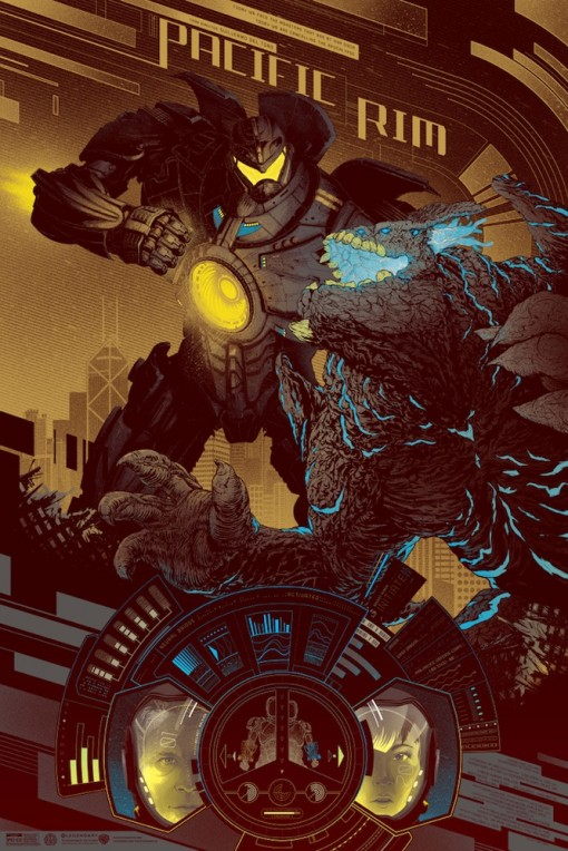 Pacific Rim by Kevin Tong (Variant)