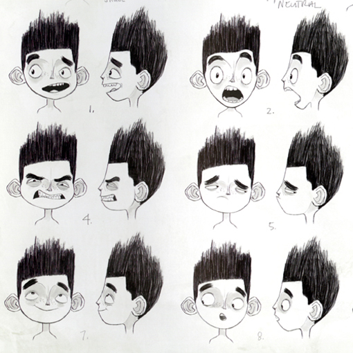 ParaNorman expressions