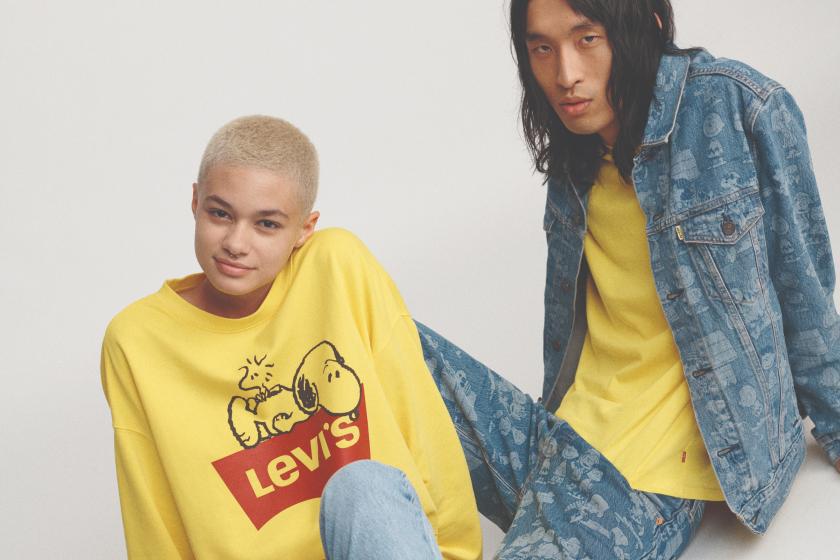 Peanuts x Levis