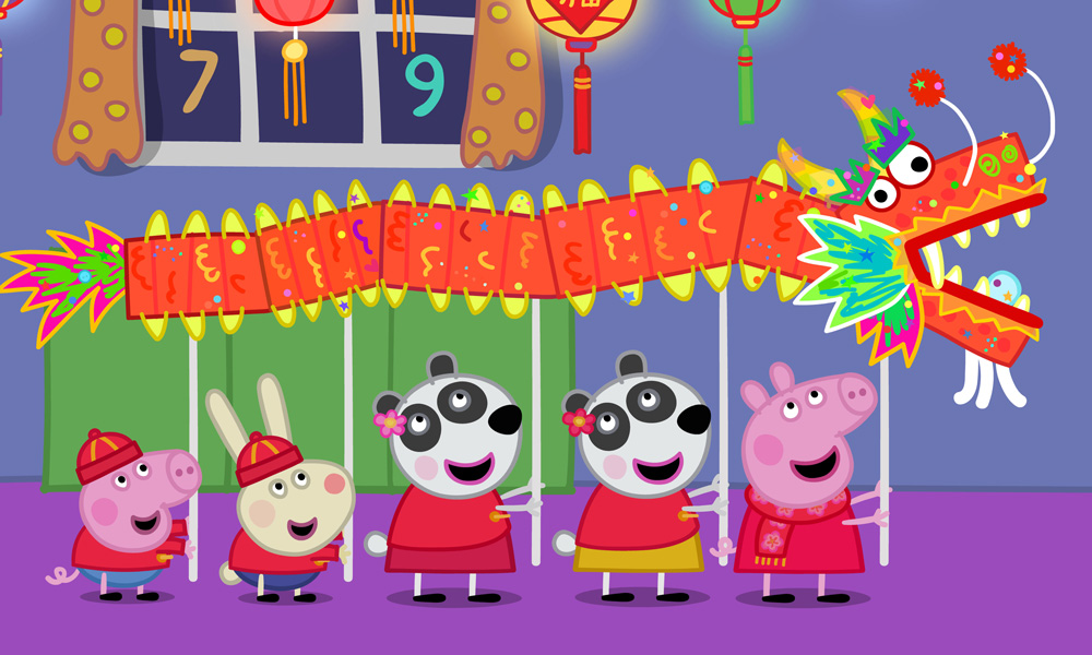 Peppa Pig Lights Up The Globe With Chinese New Year