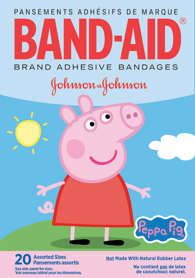 Peppa Pig BAND-AID® Brand Adhesive Bandages