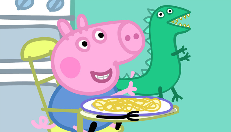 Peppa Pig' on the Hoof in Asia