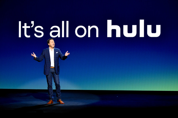 Hulu SVP of Sales Peter Naylor speaks onstage during Hulu Upfront 2018 at The Hulu Theater at Madison Square Garden on May 2, 2018 in New York City. (Photo by Dia Dipasupil/Getty Images for Hulu)