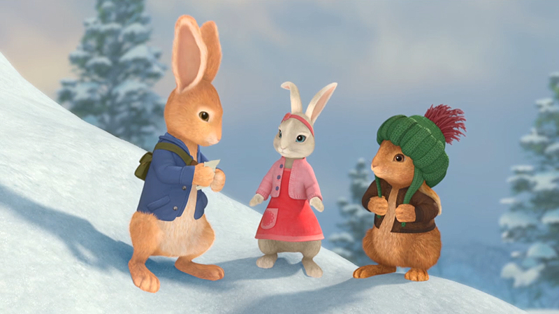 Movie Poster 2019: New Peter Rabbit Christmas Special To Debut On Nick Jr