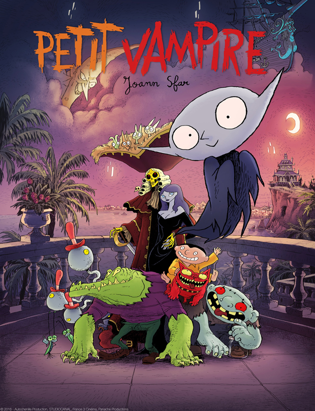 Petit Vampire by Joann Sfar (©2016 – Autochenille Production, STUDIOCANAL, France 3 Cinéma, Panache Productions)