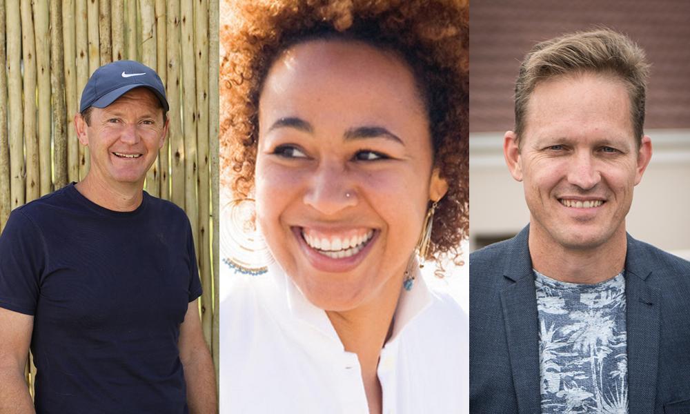 Phil Cunningham, Rita Mbanga, Brent Dawes