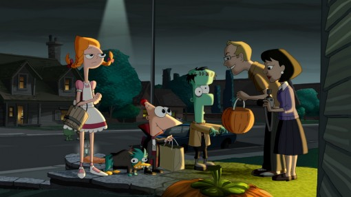"Phineas and Ferb's ""That's the Spirit!"" Halloween-themed episode"