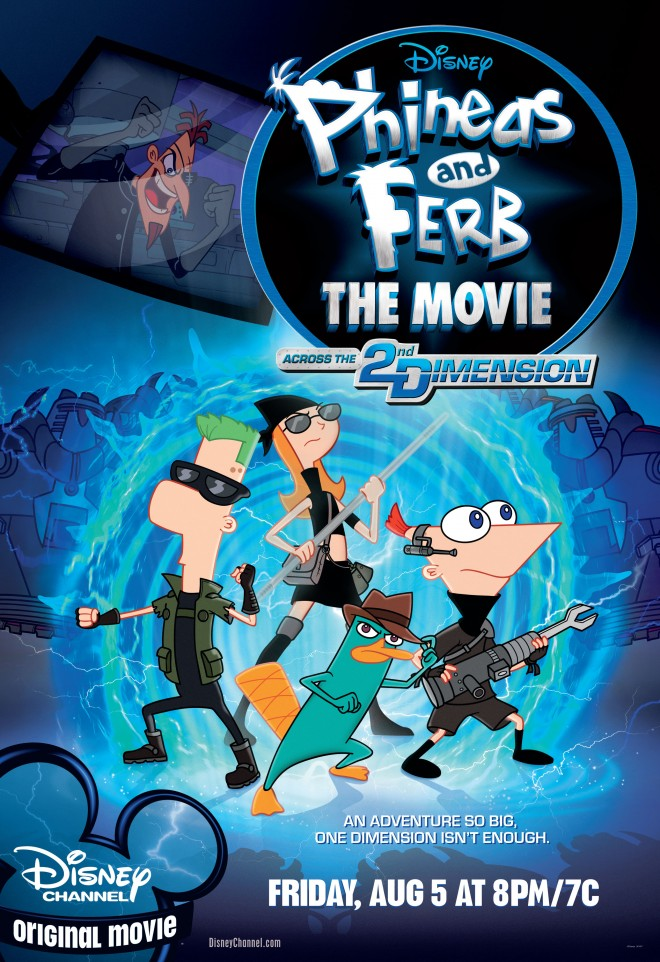 hottest phineas and ferb porn posters
