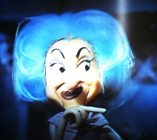 Phyllis Diller in stop-motion from Mad Monster Party