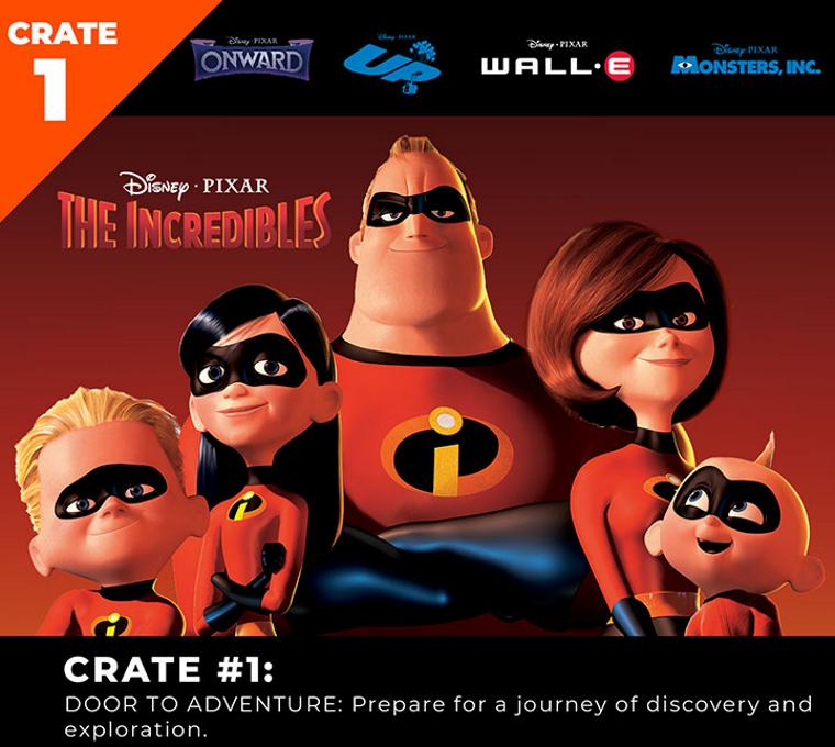 Pixar Loot Crate Limited Edition