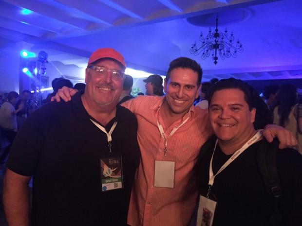 Chuck Pell, Jose Iñesta, Diego Rojas
