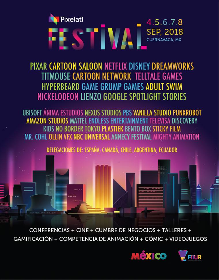 El Festival Pixelatl