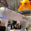 Pokémon booth at Brand Licensing Europe 2018
