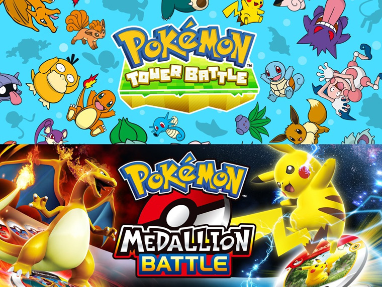 Pokemon: Tower Battle, Pokemon: Medallion Battle