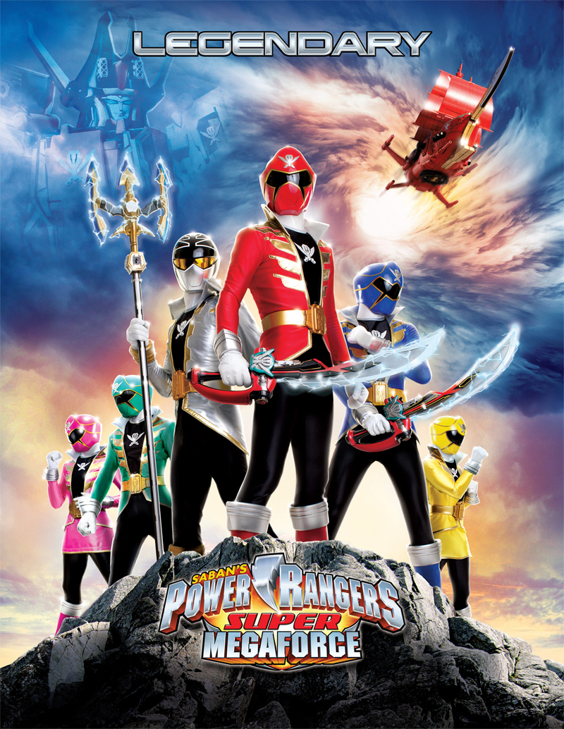 super power rangers