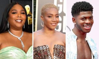 L-R: Lizzo, Tiffany Haddish, Lil Nas X