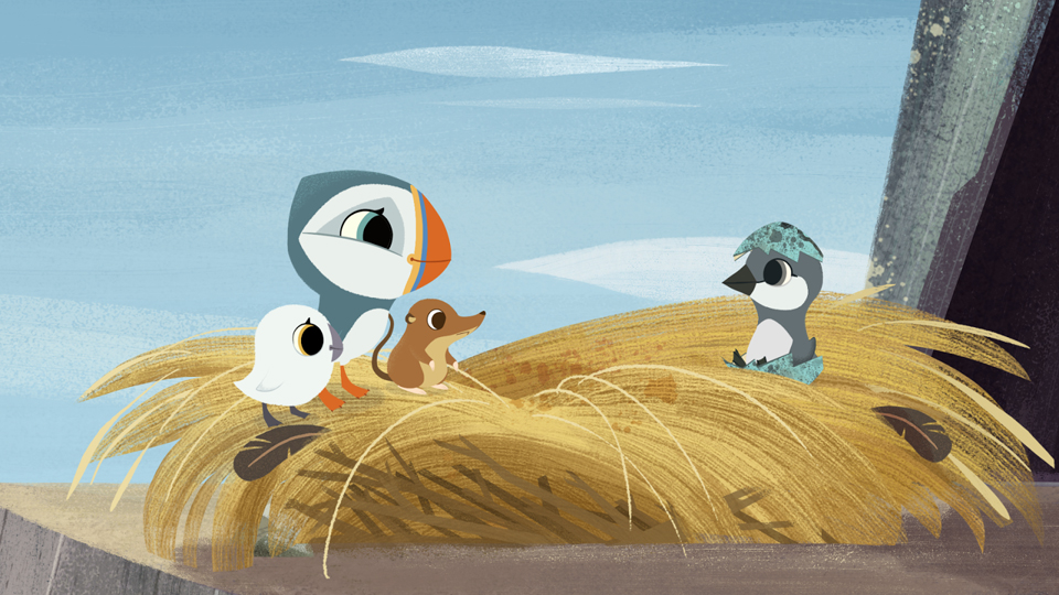 Mercedes Little Rock >> 'Puffin Rock' Hatches First Picture Book