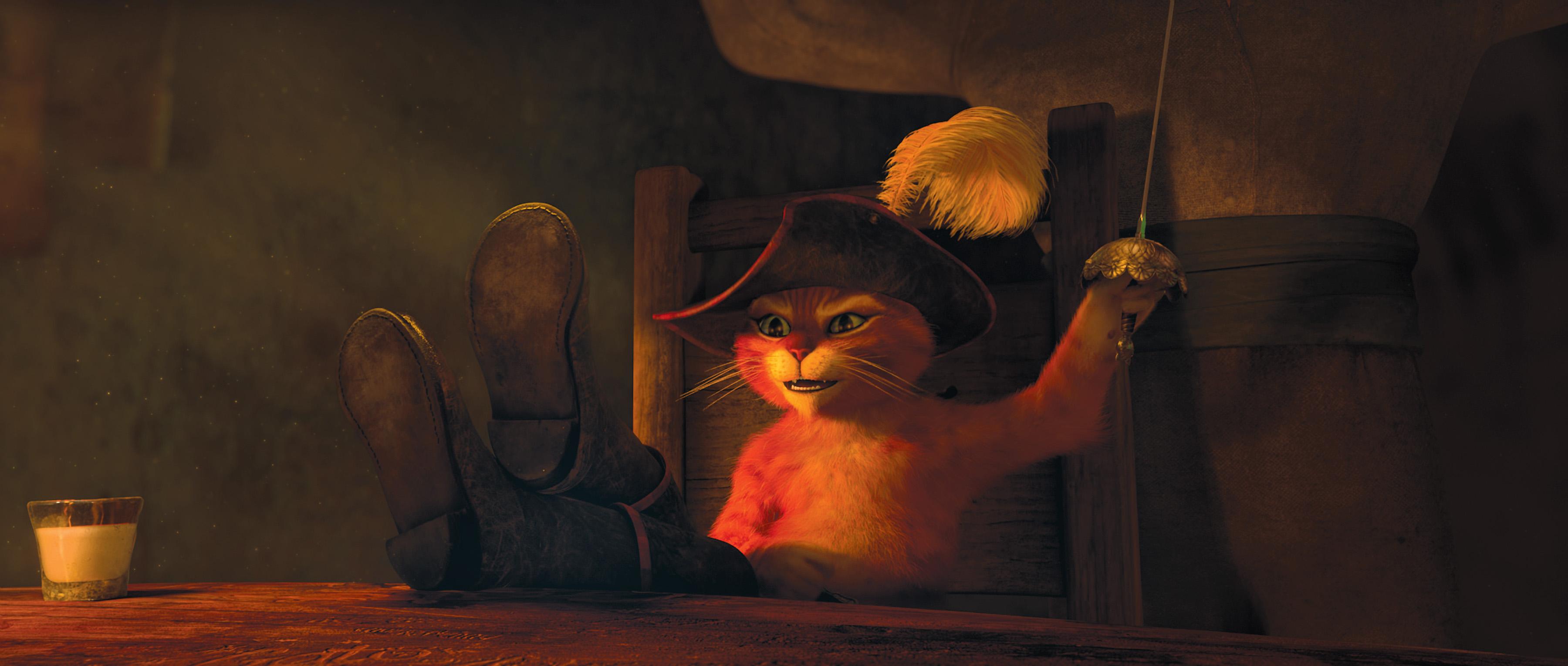 """...фильм DreamWorks Animation  """"Кот в сапогах """""""